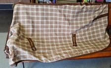 TuffRider Horse Plaid Stable Sheet