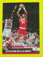 🔥2007 Stadium Club #83 HAKEEM OLAJUWON 1st Day Issue/1999 HOF HTF💎👀 Houston