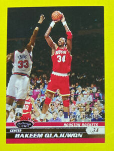 🔥2007 Stadium Club #83 HAKEEM OLAJUWON 1st Day Issue/1999 HOF HTF💎👀 Houston