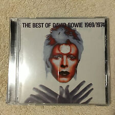 The Best of David Bowie 1969-1974 by David Bowie CD _EMI No.373 _Good+++.