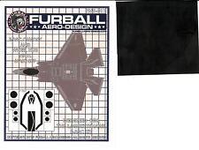 Furball Decals 1/48 LOCKHEED F-35C LIGHTNING Canopy & Wheel Hub Vinyl Mask Set