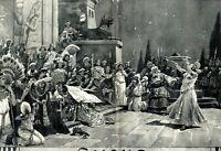 Salome von Richard Strauss XXL Kunstdruck 1905 Uraufführung Oper in Dresden