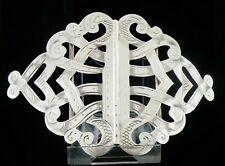 More details for antique sterling silver nurses belt buckle, reynolds & westwood 1909