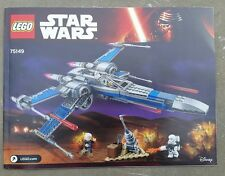 INSTRUCTIONS ONLY Lego 75149 Star Wars Resistance X-Wing Fighter