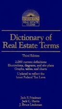 Dictionary of Real Estate Terms (Barron's Real Estate Guides), Friedman, 0812014