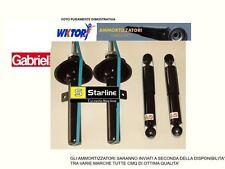 KIT, SET  4 AMMORTIZZATORI STARLINE  FIAT PANDA II  MOD 169 DAL 2003