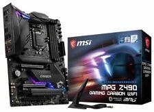 MSI MPG Z490 Intel LGA1200 Motherboard 4xDIMM, Wifi, RGB, ATX, Z490CARWIFI