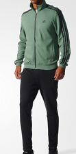 NWT Adidas Men's CO Relax Track Suit Green/Black XL