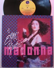 "MADONNA (Maxi 33T 12"")  EXPRESS YOURSELF   USA PRESSING 1989"