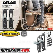 Smittybilt Atlas Door Steps *PAIR* for Jeep Wrangler JK 07-18 - 7630