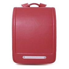 Qwawa Randoseru Randsel Japanese Style School Backpack A4 File OK Red