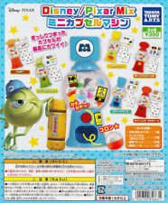Takara Tomy Disney/Pixar Mix Mini Capsule Machine Gashapon Set of 6pcs