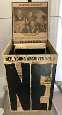 Neil Young - Archives vol 1 - 10 dvd box set, book, poster, mp3 code - near mint