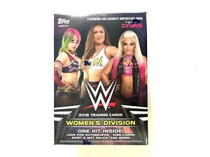 2018 TOPPS WWE WOMEN'S DIVISION BLASTER BOX ( ONE HIT INSIDE )