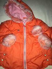 Baby Walk By Cakewalk Girls Sz. 18 Month Orange Jacket. Adorable & Fun Item