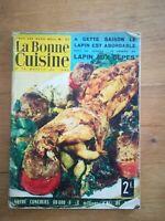 la bonne cuisine N°47 - 1963 recettes de cuisine