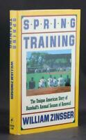 Signed William Zinsser First Edition Spring Training 1987 Pittsburgh Pirates