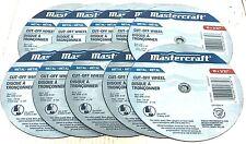 """10 MasterCraft 10"""" Chop Saw Metal Cut Off Wheel Blades Grinding Circular Miter"""