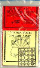 Copper State Models 1/32 PROP BOSSES Photo Etch Set