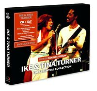 IKE & TINA TURNER - ESSENTIAL COLLECTION (CD+DVD)  CD + DVD NEW!