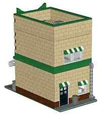 LEGO Donut Shop Modular Building Custom Instructions
