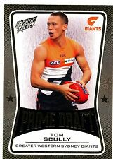2013 AFL SELECT PRIME DRAFT GOLD Tom Scully GWS  No.080 of 145