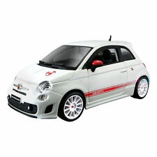 FIAT ABARTH 500 Essesse 1:24 scale diecast white model metal die cast models car