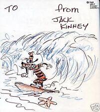 Jack Kinney Walt Disney Book SIGNED GOOFY DRAWING
