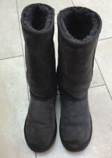 Sheepskin Tall Boots Style Brown Size 5/38