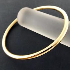 BANGLE CUFF BRACELET REAL 18K YELLOW G/F GOLD SOLID LADIES GOLF DESIGN FS3AN911