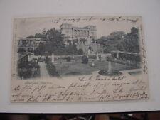 AK Ansichtskarte Stuttgart Villa Berg gelaufen 1900 nach Esslingen