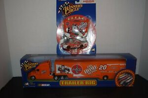 Action (2 Items) 1:64 Tony Stewart Trailer Rig & 1:64 Race Hood Series Car & Hoo