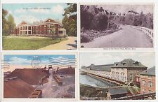 Antique Post Card Lot of 4 Mich.
