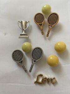 Tennis Wimbledon Game Sport Rackett Trophy Love Children Craft