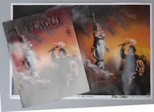 1986 Richard Corben, Tales From the Plague Comic, Limited Ed Poster, both signed