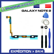 NAPPE BOUTON HOME MENU TACTILE POUR SAMSUNG GALAXY NOTE 2 + OUTILS