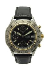 Zodiac Automatik Chronograph Eta 7750 Stahl Gold Uhr 42mm Uhrmachermeister