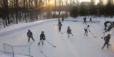 40' x 60' White Ice Rink Liner Tarp