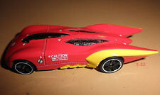 THE FLASH DC Universe Hot Wheels red diecast METAL toy car Justice League DCU 52