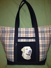 Beautiful Custom Embroidered Labrador Retriever Tote