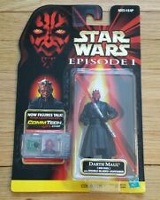 Darth Maul action figure - CommTech Star Wars Episode I - Collection 1 RARE  NEW