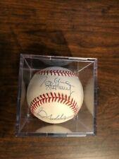 Greg Maddux, Tom Glavine, John Smoltz and Steve Avery signed baseball PSA/DNA 3
