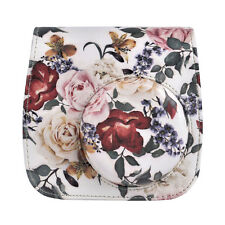 1pc Leaf Film Camera Case For Fujifilm Instax Mini8/9 Shoulder Bag Cover Pouch