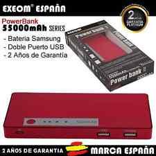 PowerBank para teléfono móvil tablet 5500mah Batería Externa Marca España