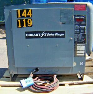 HOBART 725C3-24R BATTERY CHARGER 48 VOLT 24 CELLS 208/240/480 VAC 3Ø R SER