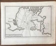 GRAVURE ROUX PLAN DU  PORT DE PORT-DE-BOUC 1764