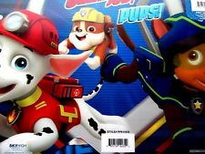 PAW PATROL CHASE RUBBLE MARSHALL  3D LENTICULAR ACTIVITY MAT! FREE USA SHIP!