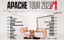 APACHE 207 Tickets  FRANKFURT 19.1.2021  STEHPLATZ Innenraum   AUSVERKAUFT