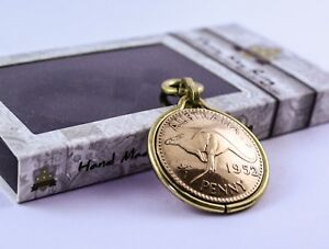 NEW Australian Penny Keyring - Unique Coin Gift - Handcrafted in Australia.