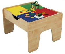 KidKraft 2-in-1 Activity Play Table with Plastic Building Block Board (Used)